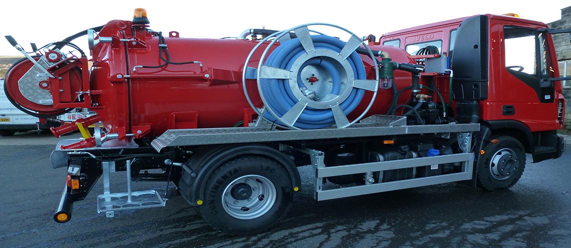 Utility jet 7.5 and 10 ton