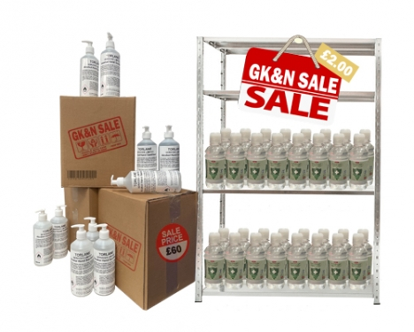 Sanitiser Sale Now On
