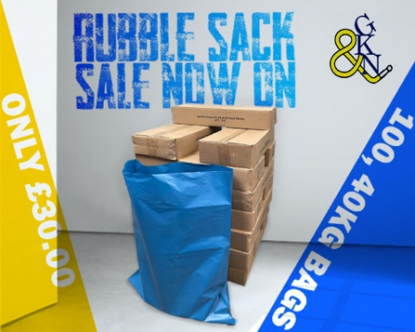 Rubble Sack Sale